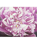 Acrylic Painting Original Hand Painted Large Size Flower Floral Theme 47... - $910.00