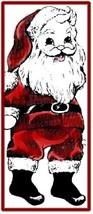 Vintage Pattern for Santa Sock  Doll  - $5.99