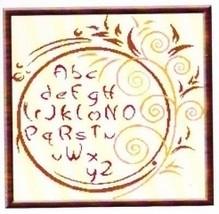 Spring Alphabet cross stitch chart Alessandra Adelaide Needleworks - $16.75