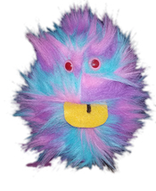 "Professional Rainbow ""FurGoblin"" Tongue Muppet Style Ventriloquist Puppe... - $15.00"