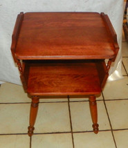 Light Cherry Mid Century End Table / Side Table  (RP) - $299.00