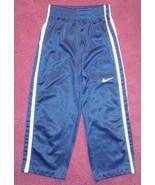 Toddler Boys NIKE Navy Blue Athletic Track Pants SZ 2T 24 Months VGUC - $7.43