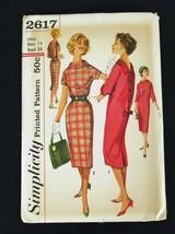 Vintage '60's Uncut Dress Pattern Simplicity Size 14 - $26.99