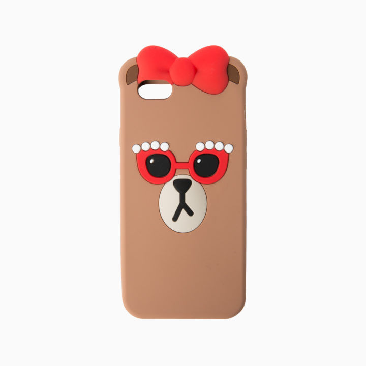 LINE Friends CHOCO iPhone Silicone Case 6/6s/Plus Cell Phone Cover Mobile Skin