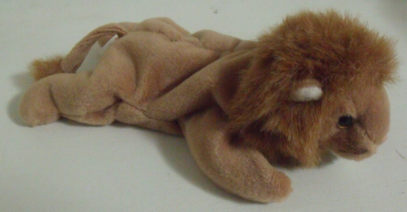 Ty Beanie Babies NWT Roary the Lion Retired