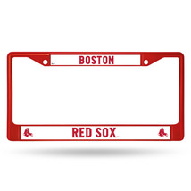 Boston Red Sox Metal License Plate Frame - Red - $23.00