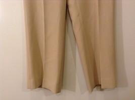 Ladies Jones New York Light Tan Beige Pants Sz 6 image 4