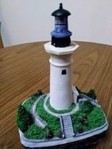 """1994 Harbour Lights Lighthouse Figurine """"Port Isabel Texas"""" #147 image 1"""