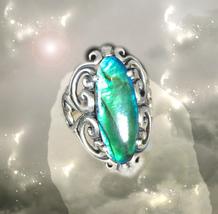 HAUNTED RING MYSTIC QUEEN THE MEDICINE MAN HEALS ALL  HIGHEST LIGHT MAGICK - $4,012.31