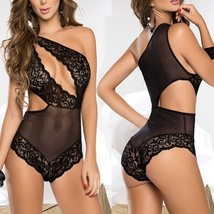 Sexy Temptation Underskirt Perspective Sexy Underwear Black Body Lingeri... - $15.00
