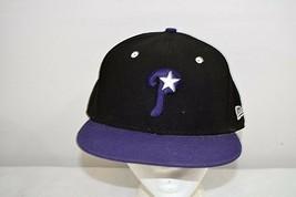 Philadelphia Phillies Black / Purple Bill Baseball Cap Fitted 7 5/8 - €23,06 EUR