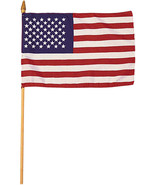 "Mini USA Flag 4"" x 6"" - $8.00"