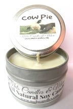 Cow Pie (Fresh Cut Grass) - 4oz All Natural Soy Candle Tin - Approximate... - €5,28 EUR