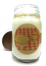 Hot Buttered PopcorN 16oz Country Jar Soy Candle - Approximate Burn Time... - $13.99