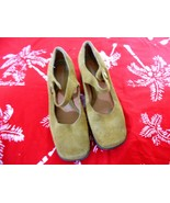 Bandolino  Womens  Size 7.5 m  Brown Suede o Leather Mary Janes Loafers Shoes - $21.00