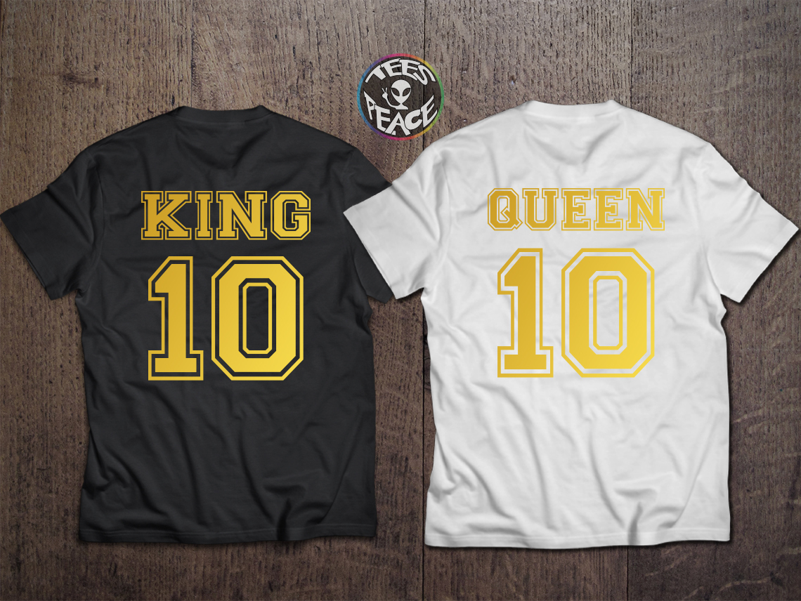 King Queen t shirts, The King His Queen, and 50 similar items