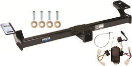 Trailer Hitch W/ Wiring Kit Fits 1996-2000 Toyota RAV4 Brand New Class Iii Reese - $199.46
