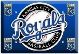 Kansas City Royals Kc Baseball Mlb Triple Light Switch Wall Plate Cover Sport Ny - $16.19