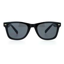Unisex Square Sunglasses Designer Fashion Horn Rim Frame UV 400 - $9.95