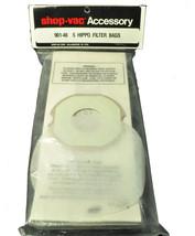 Shop Vac Hippo Hand Held Vacuum Cleaner Bags SV-90146 - $33.97