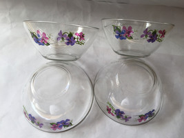 Floral ARCOROC FRANCE SIGNED by artist J WALSH Bowls Dishes - 4 - $35.00