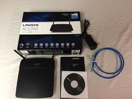 Linksys AC1200 EA6100 Dual Band Smart WI-FI Router - $59.50