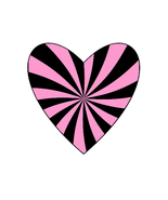 Mix Pink/Black Shape-Gift Tags-Gift Cards-Heart-Coaster-Jewelry-Background - $3.00