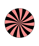 Mix Pink/Black Shape 4-Gift Tags-Gift Cards-Hea... - $3.00