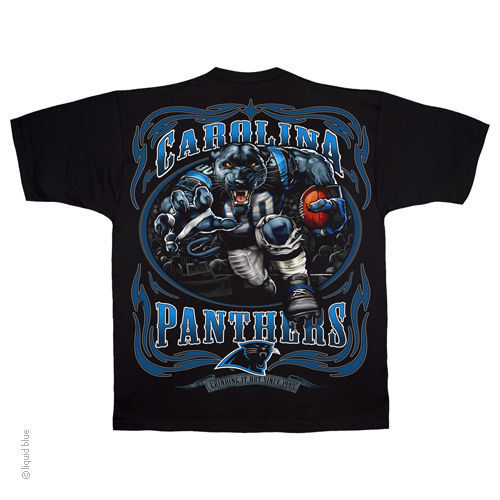 CAROLINA PANTHERS  New with tags RUNNING BACK  T Shirt BLACK shirt NFL TEAM
