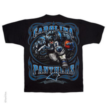 CAROLINA PANTHERS  New with tags RUNNING BACK  T Shirt BLACK shirt NFL TEAM - $21.99