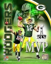 Aaron Rodgers Green Bay Packers 2011 MVP 8X10 Color Football Memorabilia... - $6.99