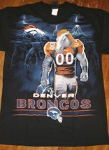 Denver Broncos New With Tags Tunnel T-Shirt Black Shirt Nfl Team Apparel - $22.99