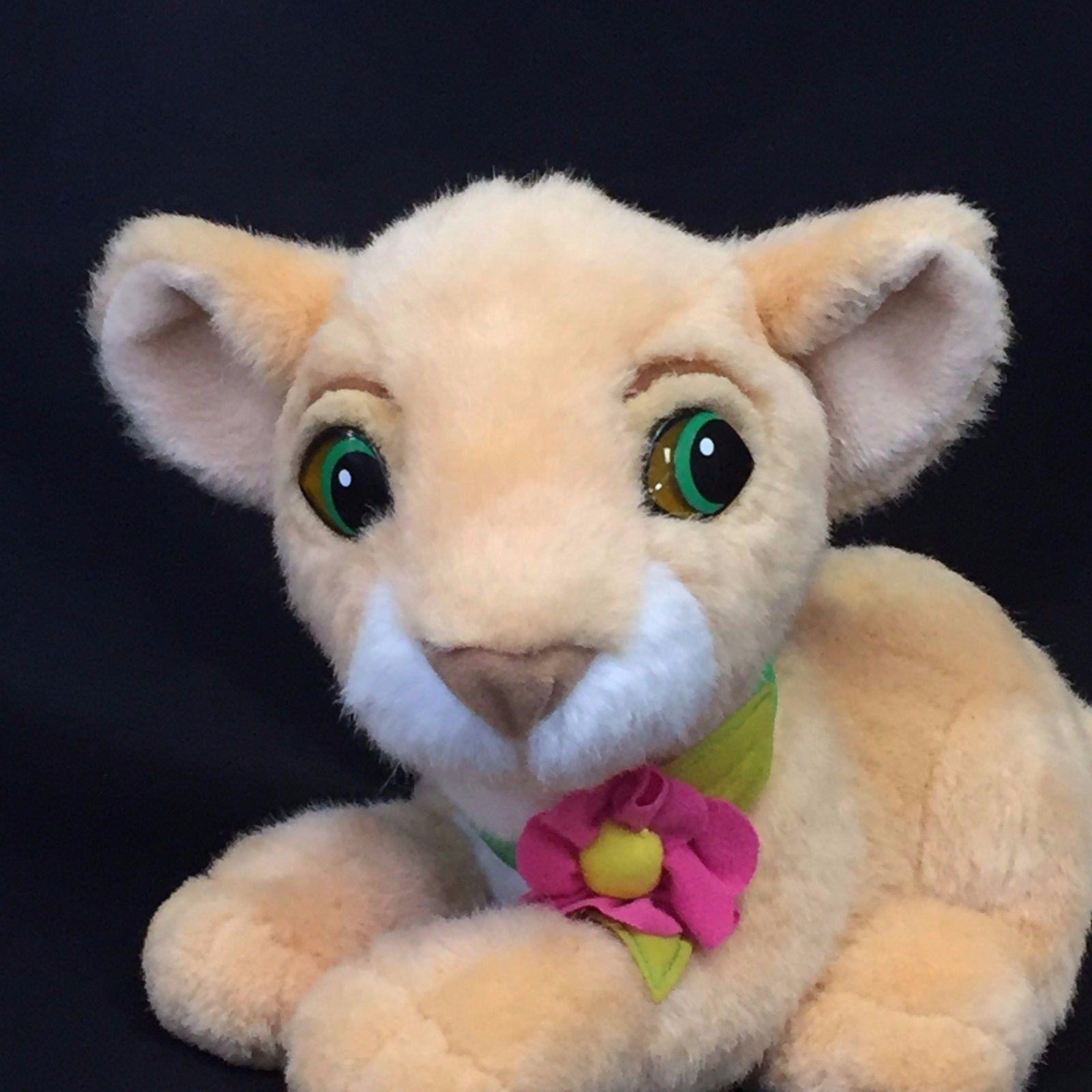 Disney Mattel The Lion King Purring Nala Baby Cub Plush