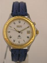 Seiko blue braceler and roman numeration case stainless steel SKH126P1 - $121.77