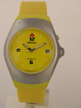 Seiko yellow braceler and yellow and silver tone case stainless steel SKH497P1 - $113.85