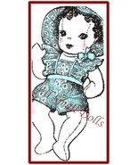 Vintage Cloth Doll Pattern for Sock Baby Doll w/Layette - $5.99