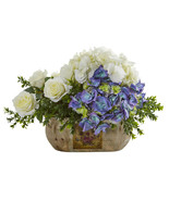 Rose and Hydrangea Artificial Arrangement - $115.64