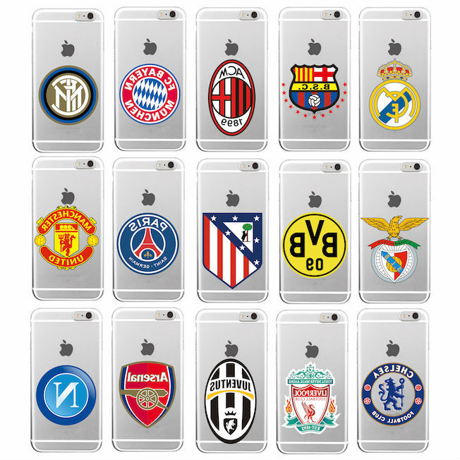 Football Soccer Clubs Fans Soft TPU Clear Phone Case Cover Coque Fundas For iPho for sale  USA