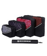 Travel Luggage Organizer Set 4 Pack Black Stora... - $16.32