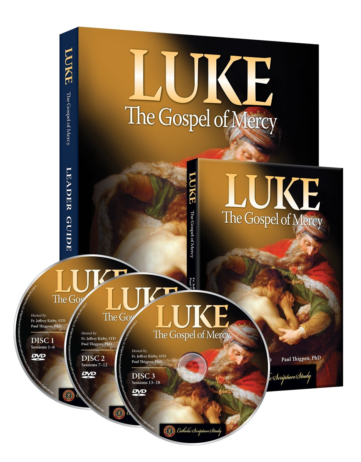 Luke the gospel of mercy luke leader guide 3d 1