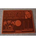 Masterpiece Color Etch Prints By Lionel Barrymore - $24.99
