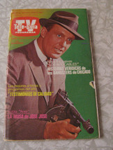 TV Tele Guia tv guide 8/31/84 From Mexico The Untouchables - $14.99