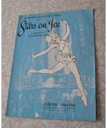 Stars On Ice Program Center Theatre Rockefeller Center NYC Vintage - $19.99