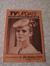 TV Update Magazine Sunday Times Newspaper Insert 3/1/86 Scranton PA Cher... - $14.99