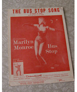 Marilyn Monroe The Bus Stop Song Sheet Music Miller Music 1950s - $19.99