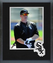 Zach Collins Chicago White Sox 2016 Action-11 x 14 Team Logo Matted/Framed Photo - $43.55