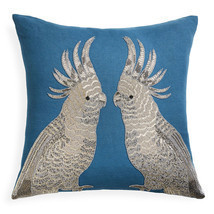 Jonathan Adler Zoology Parrots Throw Pillow - $276.76