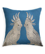 Jonathan Adler Zoology Parrots Throw Pillow - £215.06 GBP