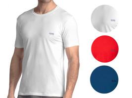 Hugo Boss Men's Premium Modern Fit Back Logo Crew Neck Stretch T-Shirt 50297231