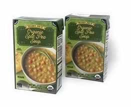 Trader Joe's Organic Split Pea Soup - NET WT 17OZ - Vegan - 2 PACK - $15.49